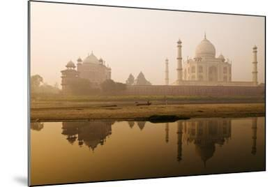 Taj Mahal in Early Morning; Agra, India-Design Pics Inc-Mounted Photographic Print