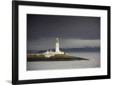A Lighthouse; Eilean Musdile in the Firth of Lorn,Scotland-Design Pics Inc-Framed Photographic Print