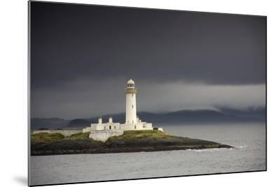A Lighthouse; Eilean Musdile in the Firth of Lorn,Scotland-Design Pics Inc-Mounted Photographic Print
