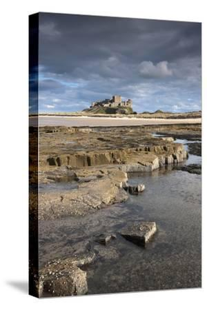 Bamburgh, Northumberland, England; Bamburgh Castle in the Distance-Design Pics Inc-Stretched Canvas Print