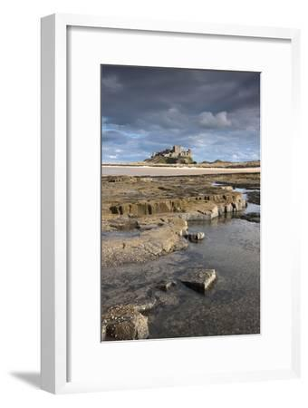 Bamburgh, Northumberland, England; Bamburgh Castle in the Distance-Design Pics Inc-Framed Photographic Print