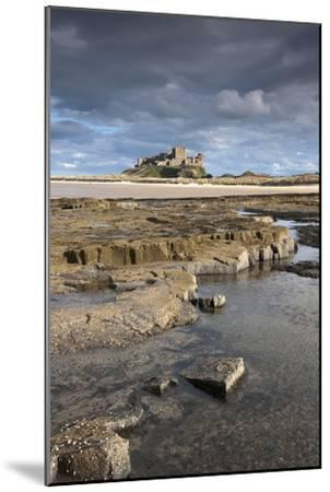 Bamburgh, Northumberland, England; Bamburgh Castle in the Distance-Design Pics Inc-Mounted Photographic Print