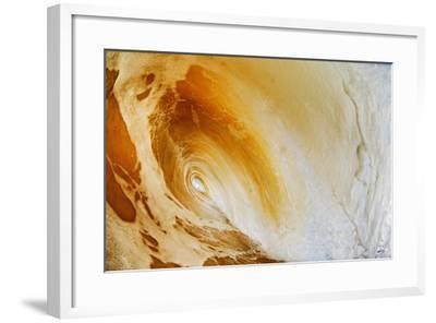 Hawaii, Maui, Makena, Beautiful Wave Breaking at the Beach-Design Pics Inc-Framed Photographic Print
