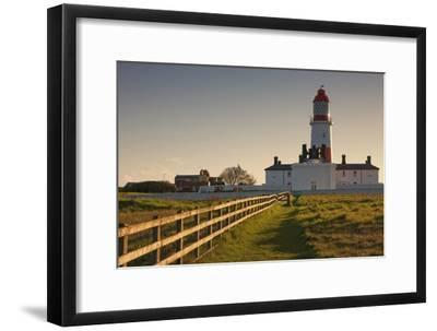 Lighthouse; South Shields, Tyne and Wear, England-Design Pics Inc-Framed Photographic Print