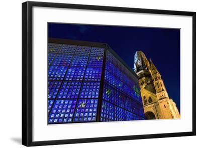 Kaiser Wilhelm Memorial Church-Design Pics Inc-Framed Photographic Print