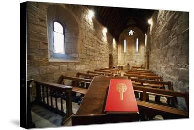 Sanctuary; Northumberland, England-Design Pics Inc-Stretched Canvas Print