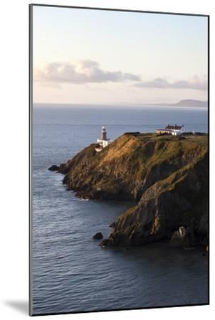 A Lighthouse on a Hill; Ireland-Design Pics Inc-Mounted Photographic Print