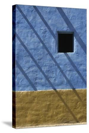 Shadow on Traditional Architecture-Design Pics Inc-Stretched Canvas Print
