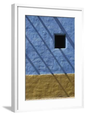 Shadow on Traditional Architecture-Design Pics Inc-Framed Photographic Print