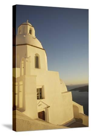 Whitewashed Building by Coastline-Design Pics Inc-Stretched Canvas Print