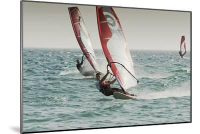 Windsurfing; Tarifa Cadiz Andalusia Spain-Design Pics Inc-Mounted Photographic Print