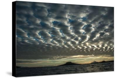 The Channel Between Sombrero Chino Island and Santiago Island in the Galapagos-Karen Kasmauski-Stretched Canvas Print