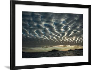 The Channel Between Sombrero Chino Island and Santiago Island in the Galapagos-Karen Kasmauski-Framed Photographic Print