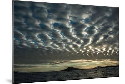 The Channel Between Sombrero Chino Island and Santiago Island in the Galapagos-Karen Kasmauski-Mounted Photographic Print