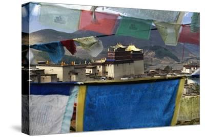 Prayer Flags-Design Pics Inc-Stretched Canvas Print