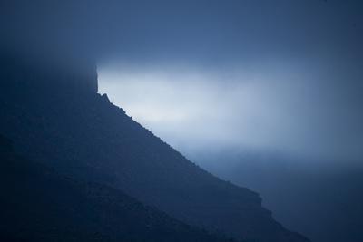 Dusk at Castleton Tower, Castle Valley, Utah-Keith Ladzinski-Framed Photographic Print
