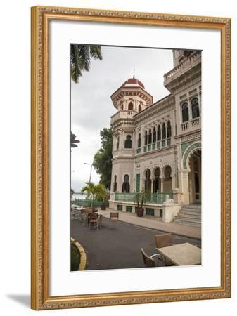 The Entryway to the Restaurant Palacio De Valle in the Punta Gorda Section of Cienfuegos-Michael Lewis-Framed Photographic Print