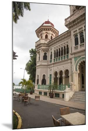 The Entryway to the Restaurant Palacio De Valle in the Punta Gorda Section of Cienfuegos-Michael Lewis-Mounted Photographic Print