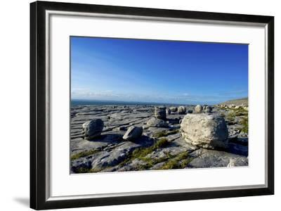 Black Head in the Burren, a Karst Formation in County Clare, Ireland-Chris Hill-Framed Photographic Print