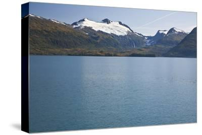 View of Cap Glacier in the Chugach Mountiains-Design Pics Inc-Stretched Canvas Print