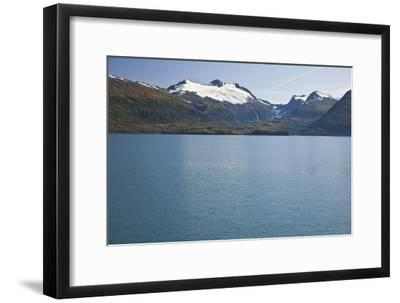 View of Cap Glacier in the Chugach Mountiains-Design Pics Inc-Framed Photographic Print