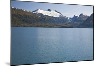 View of Cap Glacier in the Chugach Mountiains-Design Pics Inc-Mounted Photographic Print