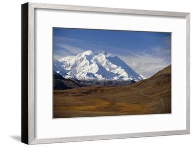 View of Mt Mckinley and Ak Range from Stony Hill W-Design Pics Inc-Framed Photographic Print