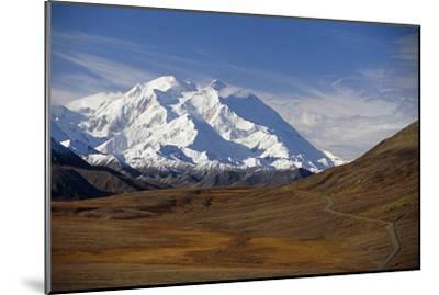 View of Mt Mckinley and Ak Range from Stony Hill W-Design Pics Inc-Mounted Photographic Print