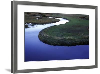 Riverbend in Gunnison National Forest, Colorado-Keith Ladzinski-Framed Photographic Print