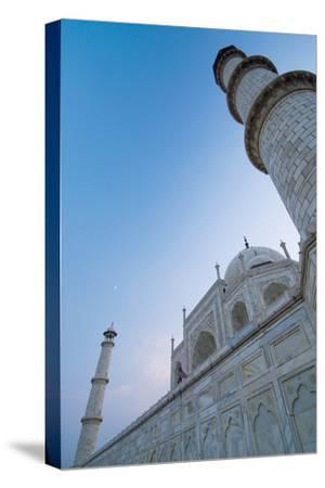 The Taj Mahal at Dusk, Low Angle View-Design Pics Inc-Stretched Canvas Print