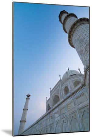 The Taj Mahal at Dusk, Low Angle View-Design Pics Inc-Mounted Photographic Print