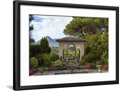 The Italian Garden at Garnish Island in Glengarriff, County Cork-Chris Hill-Framed Photographic Print