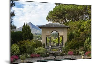The Italian Garden at Garnish Island in Glengarriff, County Cork-Chris Hill-Mounted Photographic Print