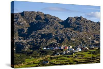 Allihies and Slieve Miskish Mountains, Beara, County Cork-Chris Hill-Stretched Canvas Print