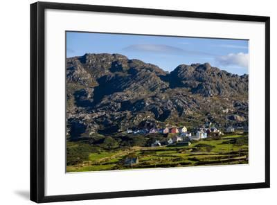 Allihies and Slieve Miskish Mountains, Beara, County Cork-Chris Hill-Framed Photographic Print