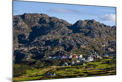 Allihies and Slieve Miskish Mountains, Beara, County Cork-Chris Hill-Mounted Photographic Print