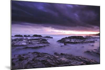 Sunset on Beach Near Melbourne, Australia-Keith Ladzinski-Mounted Photographic Print