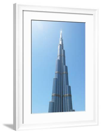 Detail of the Burj Khalifa; Dubai, United Arab Emirates-Design Pics Inc-Framed Photographic Print