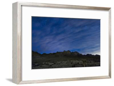 The Organ Mountains in Southern New Mexico-Michael Melford-Framed Photographic Print