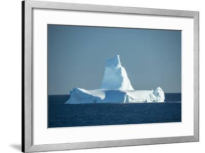 A Monument Looking Iceberg in the Labrador Sea-Michael Melford-Framed Photographic Print