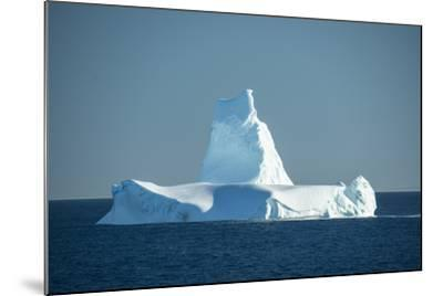 A Monument Looking Iceberg in the Labrador Sea-Michael Melford-Mounted Photographic Print