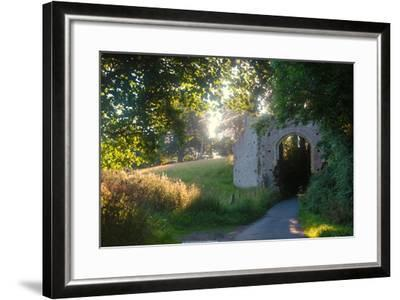 Ruins of the 13th Century 'New Gate' Leading to the Ancient Village of Winchelsea-Roff Smith-Framed Photographic Print