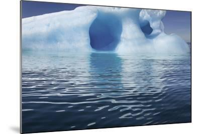 Seascape of an Iceberg and the Rippling of the Ocean's Surface-Jim Richardson-Mounted Photographic Print
