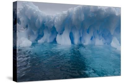 An Iceberg, Eroded by Sea Water-Jim Richardson-Stretched Canvas Print