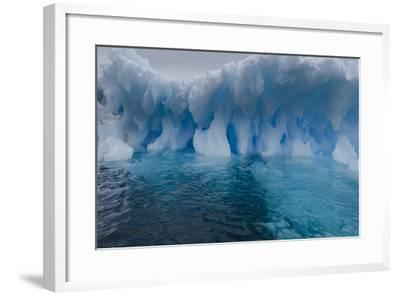 An Iceberg, Eroded by Sea Water-Jim Richardson-Framed Photographic Print