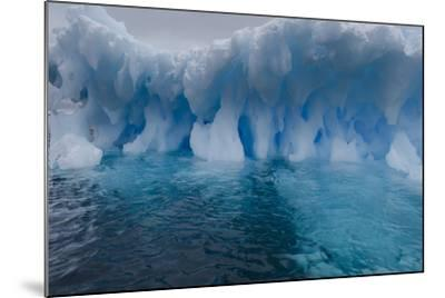An Iceberg, Eroded by Sea Water-Jim Richardson-Mounted Photographic Print