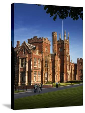 Queen's University, Belfast, Northern Ireland-Chris Hill-Stretched Canvas Print