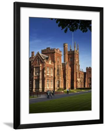 Queen's University, Belfast, Northern Ireland-Chris Hill-Framed Photographic Print