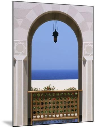 View Through Archway to Beach and Sea-Design Pics Inc-Mounted Photographic Print