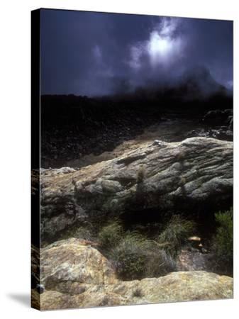 Stormy Sunset in the Cederberg Wilderness Area, South Africa-Keith Ladzinski-Stretched Canvas Print